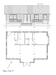 a floor plan to draw elevations