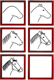 free horse unit study resources kid drawings drawing lessons