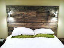 Reclaimed Wood Headboard Bedroom Mesmerizing Cool Wood Headboards Dazzling Headboard
