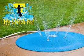shop my splash pad portable splash pad spray and play
