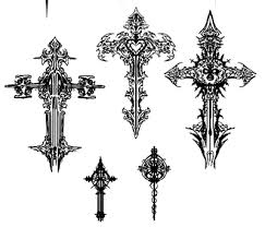 christian cross tattoo designs tattoo pinterest cross tattoo