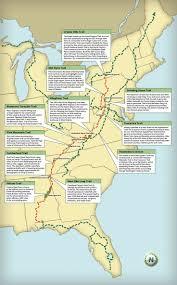 Blue Ridge Mountains Map Explore Appalachian Trail Driving Route Road Trip Usa Eastern
