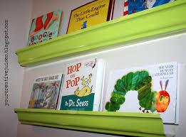 creative juices rain gutter book shelves
