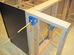 kitchen island construction how to install an outlet in a kitchen island search