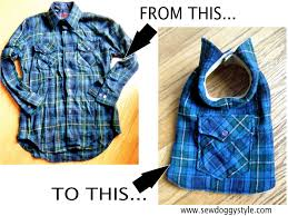 shirt pattern for dog sew doggystyle diy pet coat pattern sewing it together