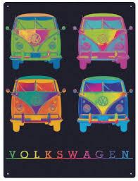 20 top campervan metal wall art wall art ideas vw campervan wall art metal neon quad for campervan metal wall art image