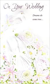 greetings for a wedding card doves on white flower arrangement wedding marriage