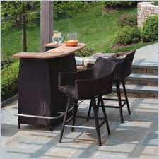Outdoor Bar Patio Furniture - what are the advantages of getting an outdoor bar furniture