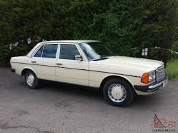 mercedes benz 230e w123 saloon 5 speed automatic petrol low mileage