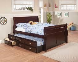 Bed On The Floor by Bedroom Design Custom Brown Wooden Trundle Beds On Wooden Floor