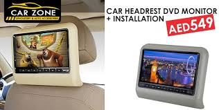 Upholstery Dvd Car Headrest Dvd Monitor For Aed549 At Car Zone Upholstery U0026 Auto