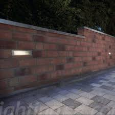 Recessed Outdoor Wall Lights Recessed Light Popular Recessed Outdoor Wall Lights Brick