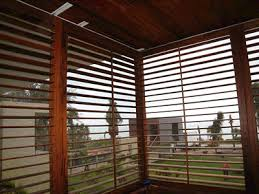Wooden Louvre Blinds Plantation Shutters Motorized Hurricane Security Shutters Screen