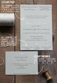 liste invitã s mariage rédiger les textes de faire part de mariage