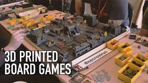 3d print your own board game check out boardcraft u0026 necrovirus
