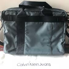 Tas Calvin Klein original calvin klein laptop bag preloved fesyen pria tas dompet