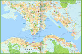 Detailed Map Of China by Large Detailed Map Of Hong Kong
