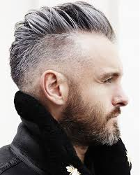 haircut for older balding men with gray hair 50 grey hair styles haircuts for men