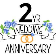 2 year wedding anniversary four anniversary
