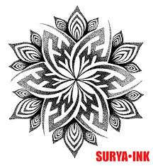 design tattoo hand mandala handpoke tattoo design c a wills by chris anthony wills