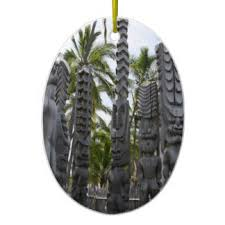 tiki ornaments keepsake ornaments zazzle
