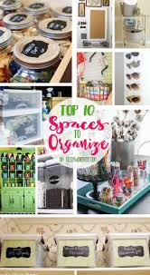 these top 10 spaces to organize will get your home feeling