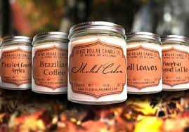 unique scented candles as wells as winter decorative for fall plus