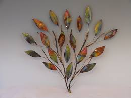 copper branch sculpture metal sculpture home decor wall art