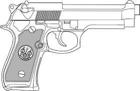 tattoo gun sketch collection of 25 pistol tattoo sketch