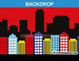 city backdrop comic backdrop background instant