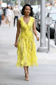 Canary Yellow Dresses For Weddings Jada Pinkett Smith Is Super Stylish In Two Different Looks Daily