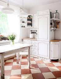 chalk paint kitchen cabinets distressed white distressed kitchen by agnieszka krawczyk sloan