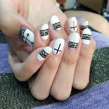 29 cross nail art designs ideas design trends premium psd