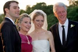 where do clintons live chelsea clinton used foundation to help pay for wedding email