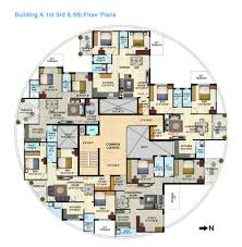 Flat Plans Apartment Luxury Apartment Floor Plans Modern Rooms Colorful