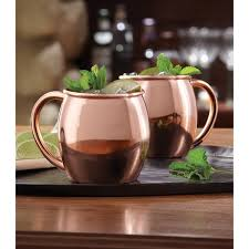 moscow mule mugs sharper image copper plated moscow mule mugs free shipping on