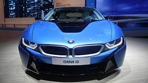 Bmw I8 Blue - the 2014 bmw i8 looks and driving scenes iaa frankfurt 2013