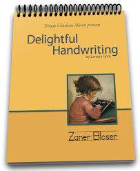 zaner bloser writing paper printable delightful handwriting simply charlotte mason delightful handwriting student zaner blosure