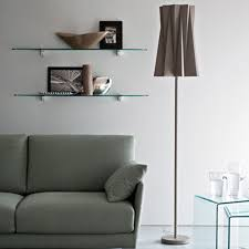 Living Room Standing Lamps Floor Standing Lamp Contemporary Fabric Steel Andromeda By