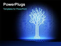 circuit board powerpoint template free circuit board