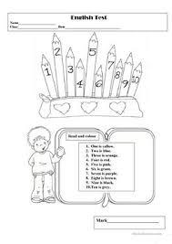 174 free esl english test worksheets