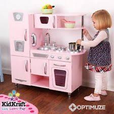 kinderküche kidkraft kidkraft kinderküche rosa retro küche spielküche 53179 ebay