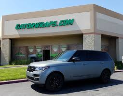 matte range rover range rover wrapped in matte anthracite metallic 858m