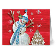 burgoyne christmas cards burgoyne christmas holidays greetings cards snowman 40pk