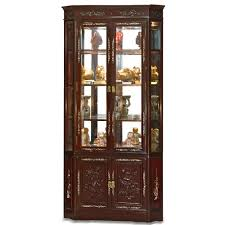 curio cabinet curio cabinet cabinets furniture kitchen corner