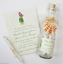 hawaiian themed wedding invitations 21 bottle wedding invitation ideas watercolor wedding
