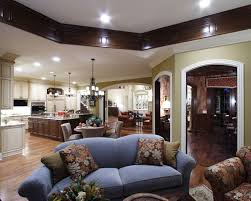 Open Floor Plan Kitchen And Living Room 200 Best Open Floor Plans Images On Pinterest House Plans And