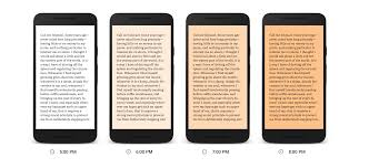 what does blue light filter do google play books gets night time reading mode that filters blue