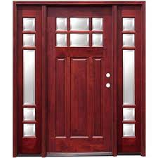 Frosted Glass Exterior Doors Doors With Glass Wood Doors The Home Depot