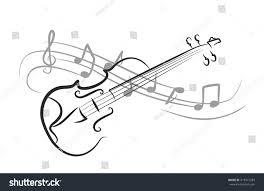 violin sketch notes stock illustration 415977283 shutterstock